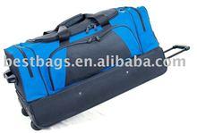 1680D Nylon travel trolley luggage bag