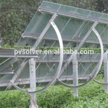 pv Adjustable ground Solar Racking price per walt solar panels handle bracket
