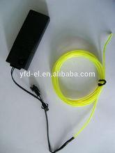 el wire with inverter--waterproof light up el wire various color el wire