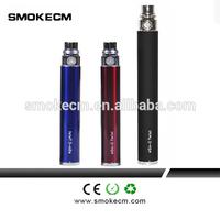 Factory Supplier Rechangeable Voltage E Cigarette 1100mah Ego-T with Cartomizer Ce5