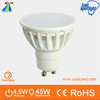 4.5w dimmable type spotlight constant current driver led gu10
