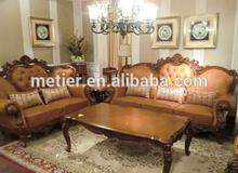 antique solid wood sofa sets furniture