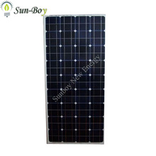 Monocrystalline 12V 100W Solar Panel