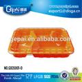 Lebensmittelqualität einweg-kunststoff-lunchbox tiffin träger mit klarsichtdeckel