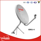 60cm Ku band parabolic satellite dish antenna 60KU-4 African Market with COC