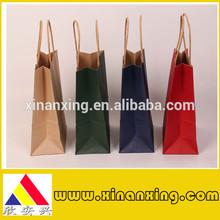 Nano Color Printing Pantone Color Printing Kraft Paper Shopping Bag Pantone Color Printing Kraft Paper Bag
