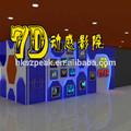 a nova invenção de equipamentos de entretenimento 7d cinema