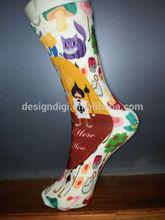 Bella calze divertente/bambini calzini/al ginocchio calze di cotone vendita di giappone usa rusia
