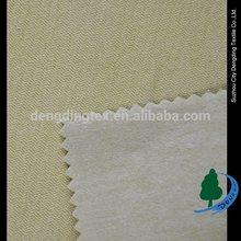 Brushed nylon rayon warp stretch bengaline fabric