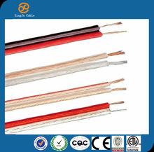 Hangzhou Manufacturer Promotion OFC Speaker Cable 2*0.5MM