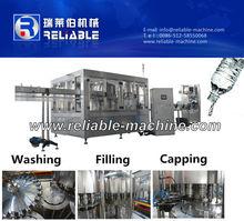 Water Bottle Filling Machine, 3 in 1 Rinser Filler Capper, Water Filling Plant Cost