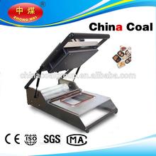 manual fast food tray sealing machine, manual fast food sealer