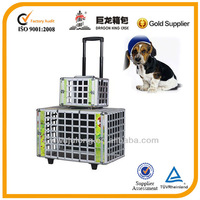 Aluminum pet cage for dogs and cats