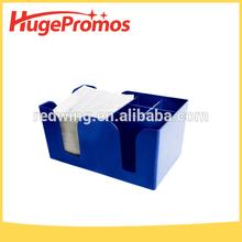 Excellent Quality Blue Tablecraft Holder Plastic Bar Caddy