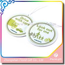 2014 air freshener car perfume card /paper car air freshener