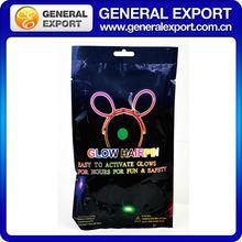Glow hairpin light stick, stick light, fluorescent light stick