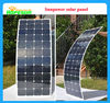 135W sunpower semi flexible solar panel list