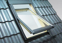 CCC/CE-approved aluminum profile roof glass window for building