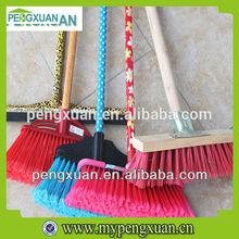 hot eucalyptus wood PVC coated long handle cleaning brush