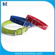 PVC dog collar extenders nylon dog collars