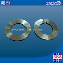 HSS Circular Roller Cutting Metal Slitting blades for Steel