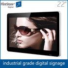 Flintstone 22inch 1080P wide screen video monitor, hd outdoor advertising video tv screen
