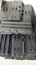 hitachi komatsu excavator steel track pads