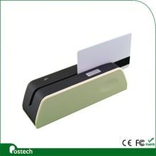Customized 3 tracks mini magnetic card reader writer MSR X6