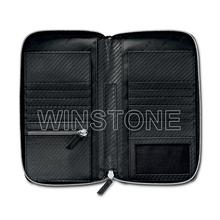 Men's genuine Leather travel organizer wallet
