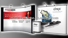 Popular backdrop pop up stands display with graphics