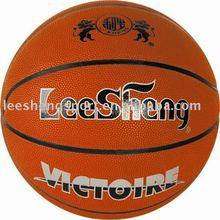 Moisture-absorbing PU leather basketball