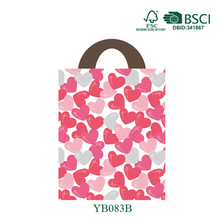 paper packaging bag Specialized OEM 2014 Valentine Festival Paper Bag Newest Special Paper Gift Bag Handle Dicutting