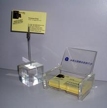 Popular crystal office decoration namecard holder for business gifts