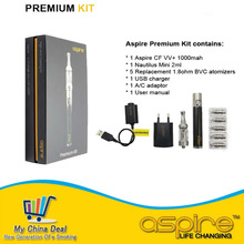 Hot new Aspire Premium Kit with 5 replacement 1.8ohm bvc coils