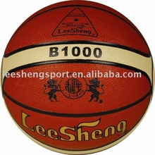 Cow leather basketball