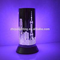 New Design Beautiful Colorful Magic Animal Led Push Light For Kids