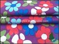 A prueba de agua textiles/100% de satén de poliéster micro fibra de papel a prueba de agua de impresión de tela piel de durazno
