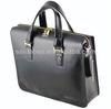 Carbon fiber leather laptop briefcase