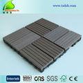 madera de plástico compuesto listones ocho de bricolaje de la parrilla