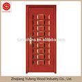 solid único porta de madeira design quadros