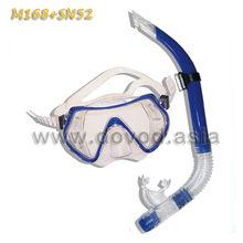 Diving set mask and snorkel set(M168+SN52)
