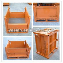 [ZZ-0003]top quality Heavy duty metal steel storage box cage metal bin