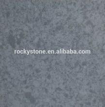 Double colors grey artificial quartz stone countertop,tiles
