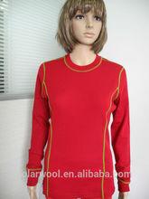 Women's Merino Wool Crew Neck Top