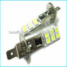 High Brightness H1 Led 12SMD 5050 chips fog light automobile