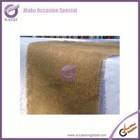 linen beaded embroidered plastic felt table runner