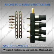 0.8~6.0L car PG-K cng injector rail cng kit for car engine