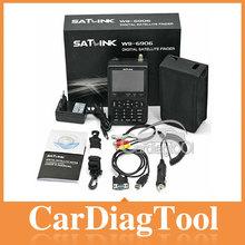 Satellite Signal Finder Meter WS6908,SATlink WS 6909 DVB-S DVB-T Digital Satellite Signal Finder LCD WS6909