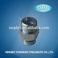 hecho en china de alta calidad de metal de fumar accesoriosdetubería ningbo fundición proveedor adaptador hidráulico