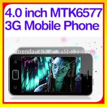 New 4 inch IPS MTK6577 Dual Core dual sim phone
